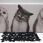 Печать картин на холсте, модульные, скандинавские, коллажи