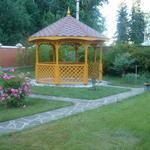 Строительство дачных и садовых беседок под ключ