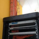 Структурована кабельна система офиса 150 портов