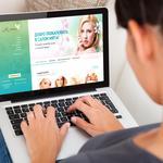Разработка сайта для салона красоты.   http://myata.dp.ua/
