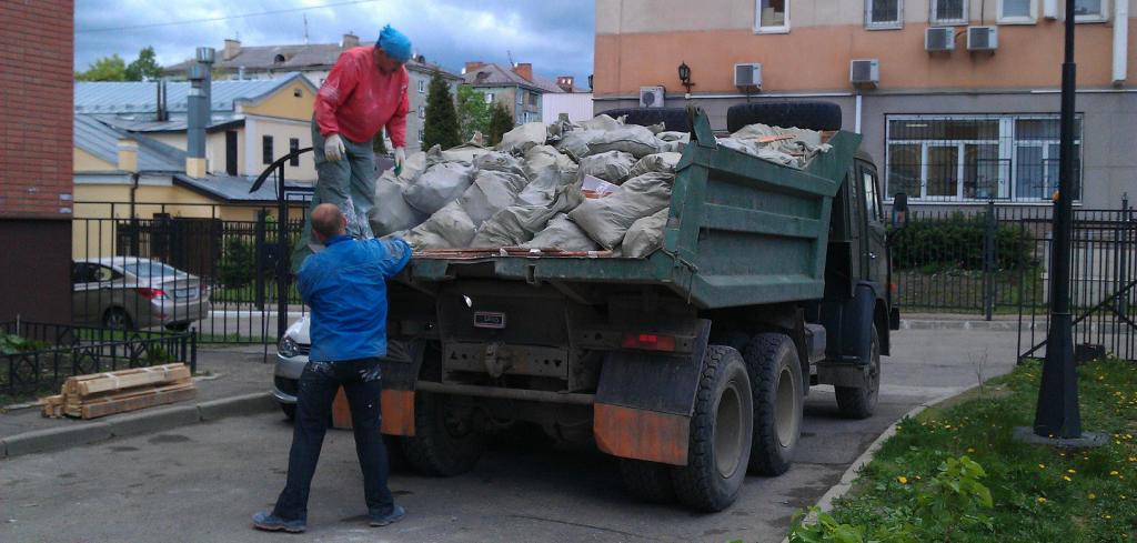 вывоз мусора в Минске