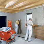 Штукатурка стен и потолков машинным способом