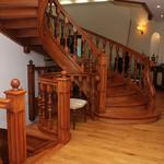 Лестницы из дерева на заказ по индивидуальному проекту, фото работ !!!